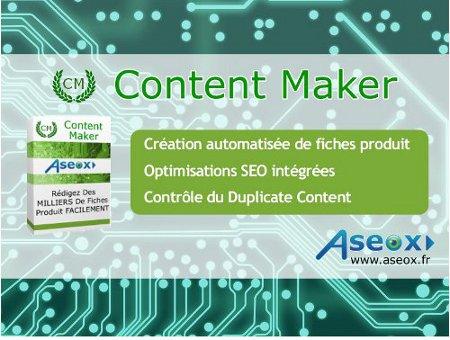 Content maker